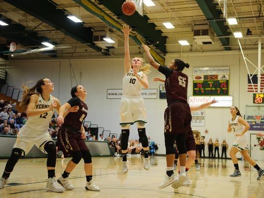 Norwich vs. Vermont Women's Basketball 11/15/17