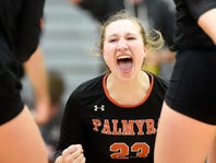 Palmyra girls volleyball headed back to district final