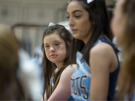 Alaina Lardaro has Down Syndrome, but it doesn't stop