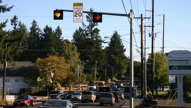 Salem-area school zone flashers will  be tested this week and next. Statesman Journal file