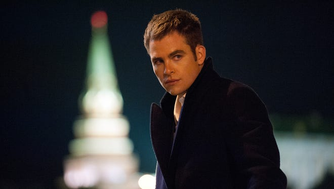 """Chris Pine is the latest actor to take on the role of super spy Jack Ryan in """"Jack Ryan: Shadow Recruit."""""""
