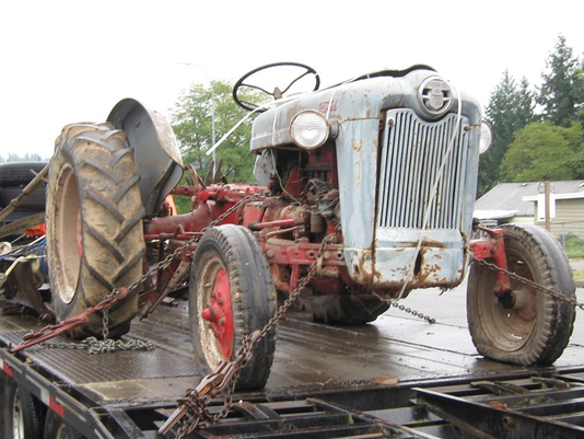 Ford 640, old