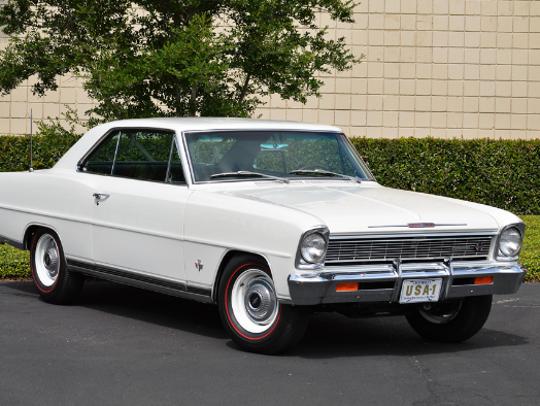 1966 Chevrolet Nova SS.