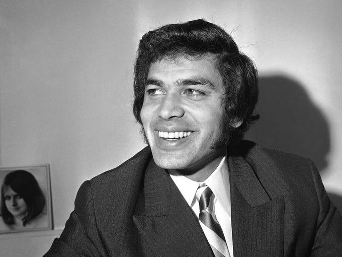In 1968, Engelbert Humperdinck was fresh into his career