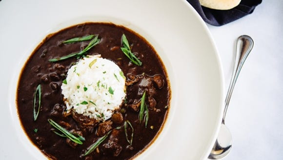 Charley G's, which is known for this duck and andouille gumbo, will offer a special brunch menu for Easter.