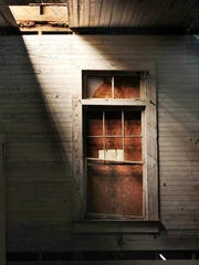 This undated photo shows part of a one-room schoolhouse built in the 1920s to teach black children on St. Simons Island, Ga. Preservationists saved the Harrington School from scheduled demolition in 2010 and since then have spent about $300,000 to stabilize its deteriorating frame and leaky roof. Recently, the group Friends of the Harrington School announced a grant award that it hopes will bring in $50,000 needed to finish restoring the schoolhouse's interior.