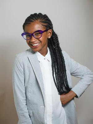 This photo provided by Scholastic shows Marley Dias.  Scholastic told The Associated Press on Thursday, Feb. 2, 2017,  that it had a deal with Marley Dias, whose hashtag #1000BlackGirlBooks is part of her mission to collect stories about women of color. Her book is not yet titled and is scheduled for 2018.