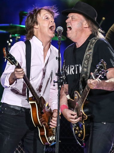 In October, Paul McCartney and Neil Young performed together at Desert Trip in Indio, October 9, 2016