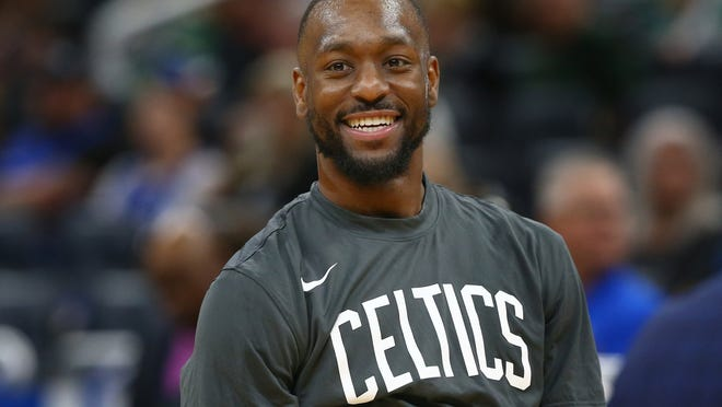 """""""I'm not really concerned much, honestly, because I think I'm trending upwards and getting better and getting closer to a return,"""" Celtics guard Kemba Walker said."""