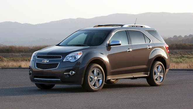 2015 Chevrolet Equinox LTZ.  GM says it will make the crossover for an extra year at an extra assembly line in Oshawa, Ontario.