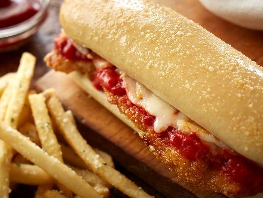 Coming To An Olive Garden Near You Breadstick Sandwiches