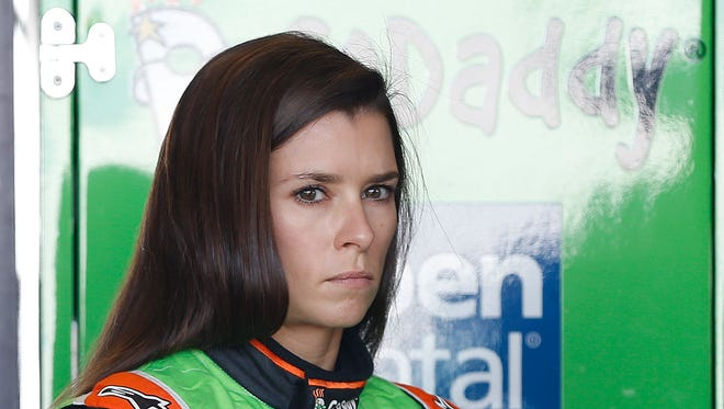Danica Patrick has six top-10s in 91 Sprint Cup starts.