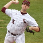 ULM pitcher Alex Hermeling was named Sun Belt Conference Pitcher of the Week