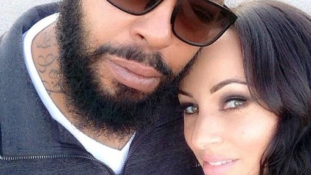 Marion (Suge) Knight and his fiancée, Toi-Lin Kelly, take a selfie in L.A. Kelly said in an exclusive interview with the Associated Press that despite Knight's reputation as the violent cofounder of gangster rap label Death Row Records, her fiancé is really more like his nickname, which is short for Sugar Bear.