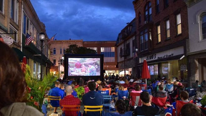 Downtown Somerville Alliance's sixth annual Starlight Cinema Series returns at 8:30 p.m. Thursdays from July 13 to Aug. 17 to Division Street.