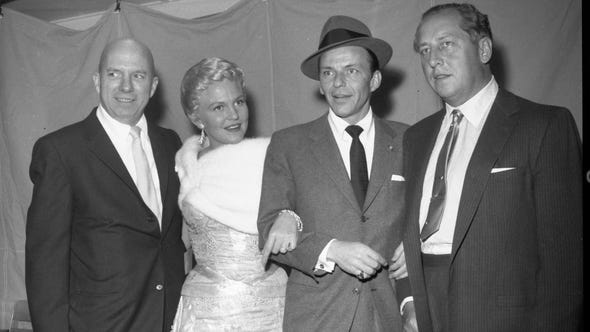 Jimmy Van Heusen, with torch singer Peggy Lee, Chairman