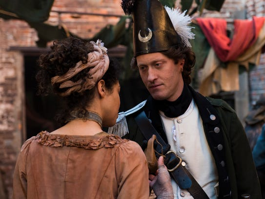 Samuel Roukin as Captain Simcoe: Not everyone can be