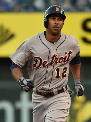 Sep 3, 2015; Detroit Tigers centerfielder Anthony Gose.