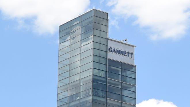 Gannett headquarters in McLean, Va.
