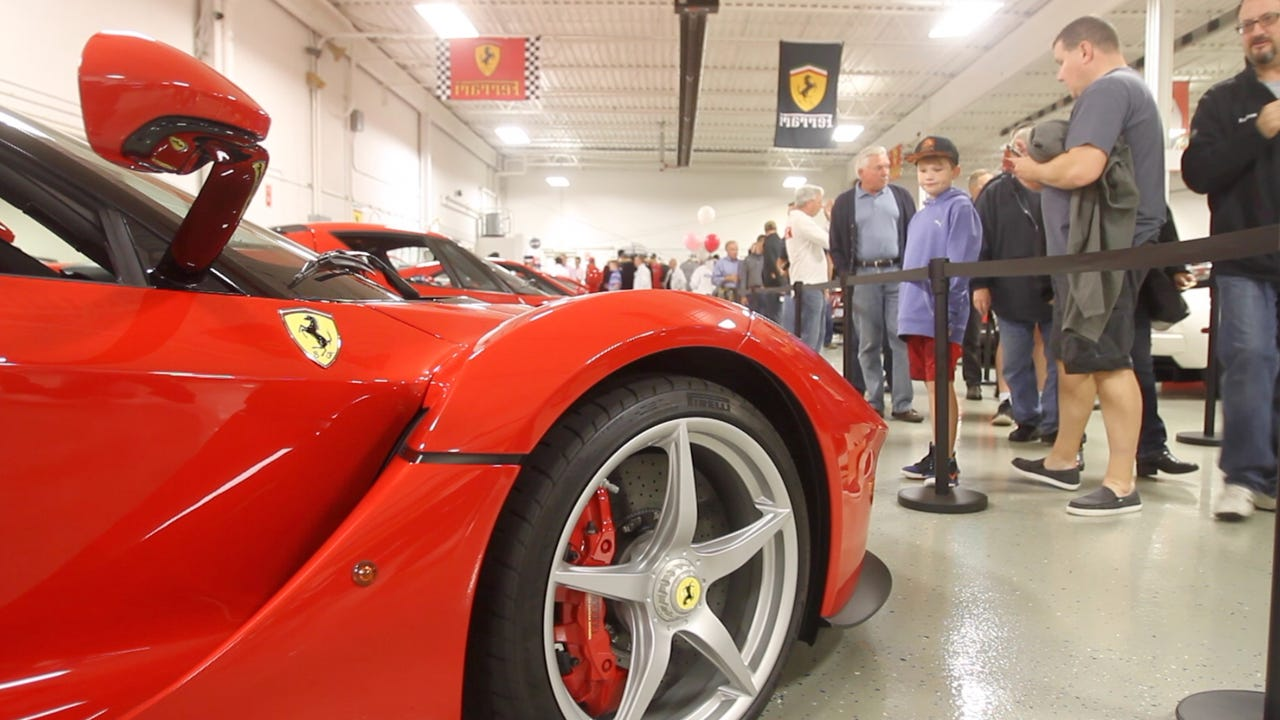 The Lingenfelter Collection of exotic and powerful cars were viewed by the public in an open house to benefit the Pink Fund.