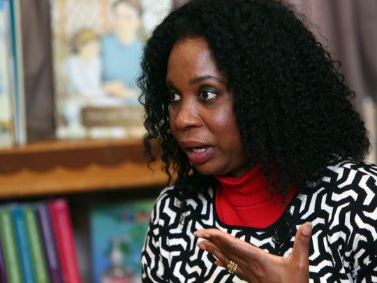 Nadine McKenzie, mother of Shamoya McKenzie, reflects