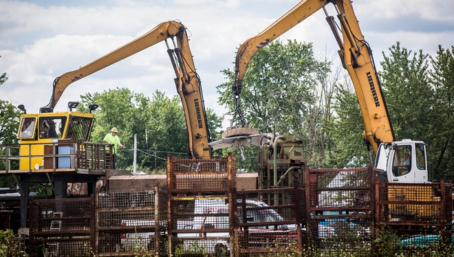 The Hartford Iron & Metal auto/scrap metal salvage yard in Hartford City is contaminated with PCBs and other pollutants that are running down city streets and sewers during wet weather.