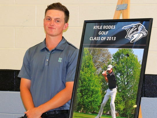 Kyle Rodes was the 2013 Mr. Golf, and now he is Mr.
