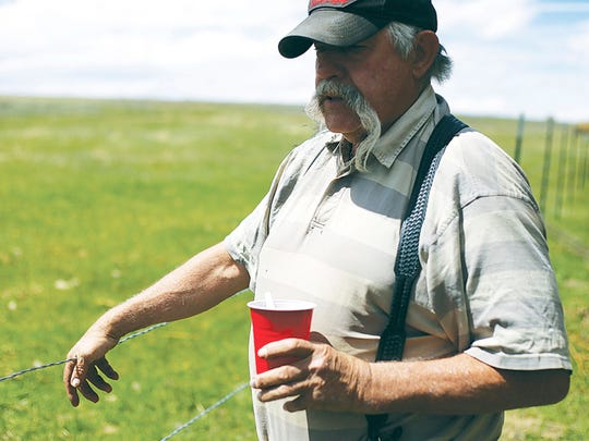 With barbless wire, Karl Lankford said less wildlife will get tangled in his fence located at the base of Sheep Mountain outside of Laramie, Wyo., meaning more animals for the rest of the public to enjoy.
