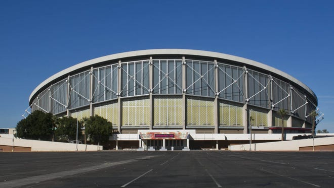 Donald Trump will host an event in Arizona on June 18, 2016, at the Veterans Memorial Coliseum,1826 W. McDowell Road in Phoenix