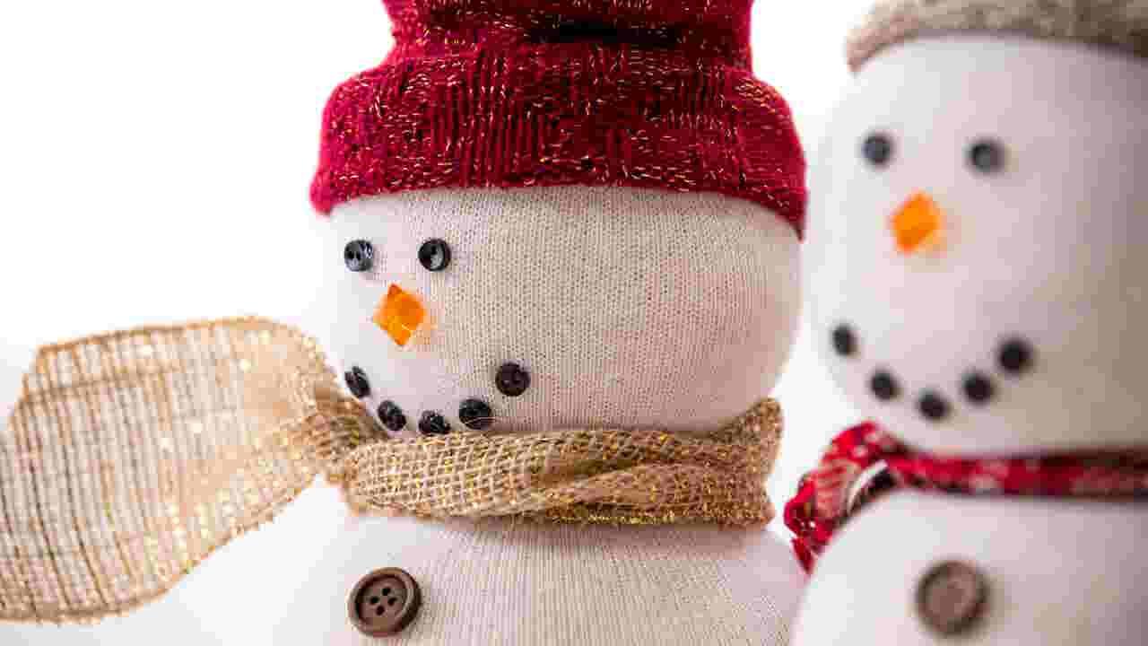 Christmas Diy Tube Sock Snowman