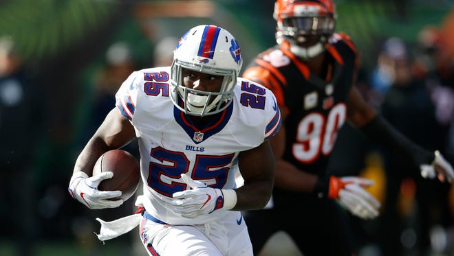 LeSean McCoy suffered a thumb injury last week in Cincinnati but he will play Sunday against the Jaguars.