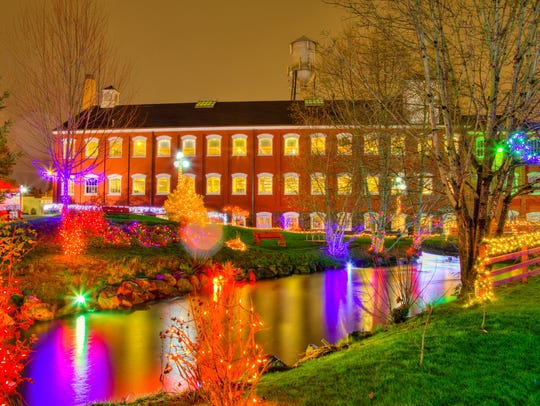Magic at the Mill transforms Willamette Heritage Center's campus into an illuminated wonderland Dec. 19-23.