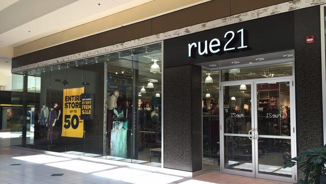 Rue21 at the Mall at Greece Ridge.