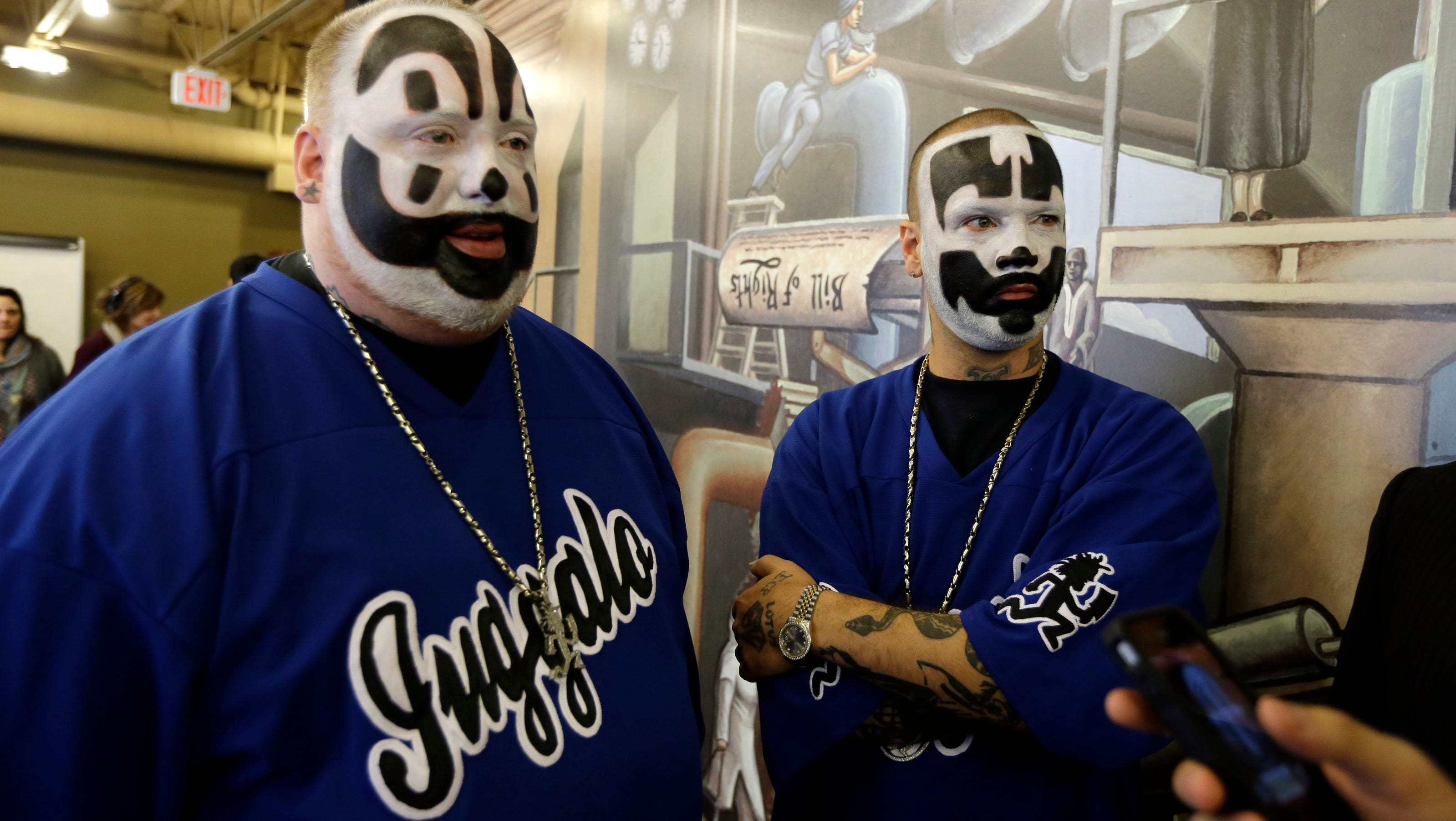 Insane Clown Posse loses gang lawsuit