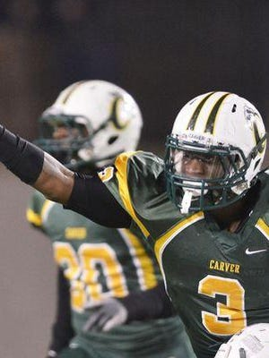 """G.W. Carver's Lyndell """"Mack"""" Wilson is the top-rated outside linebacker in the country by 247 Sports and was a Class 6A first-team All-State selection."""