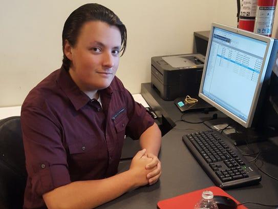 Lakeland High School senior Jack Mark is doing an internship