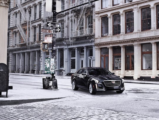 The 2016 Cadillac CTS is a popular model for Christmas