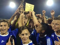 Elizabethtown defeated Hempfield, 2-1 to claim the 2016 L-L boys' soccer title.