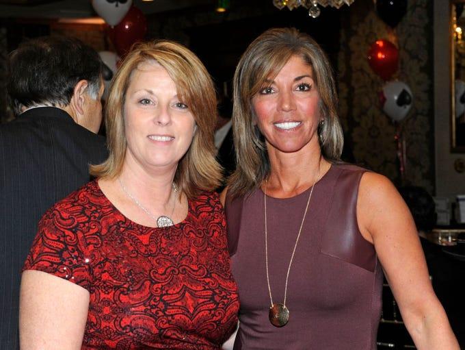 Cindy VanAlstyne and Jennifer Cuttone. CASA (Court