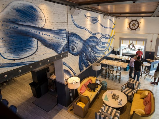 Izzy's Fish & Oyster opened in downtown Fort Myers in early June.