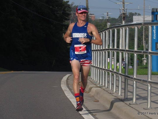 Tallahassee resident Mickey Moore ran every day in