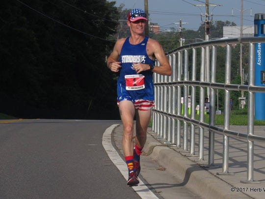 Tallahassee resident Mickey Moore ran every day in 2017.