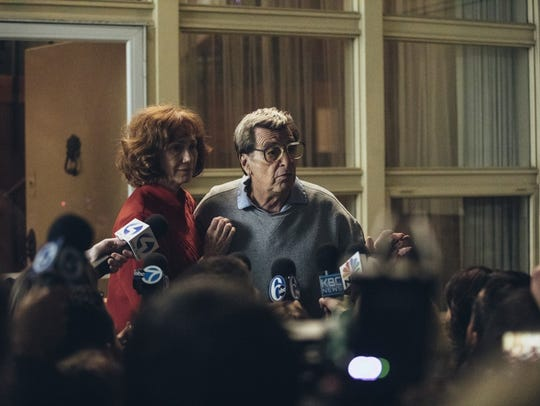Al Pacino and Kathy Baker in a scene from the upcoming