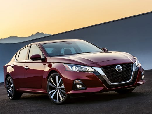 New York Auto Show Nissan Altima Midsize Car Completely Redesigned