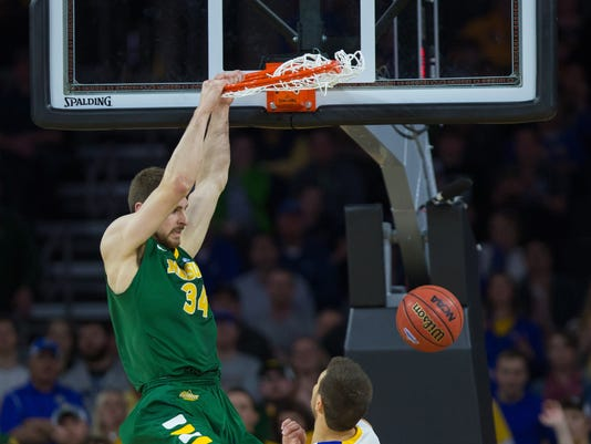 NCAA Basketball: Summit League Conference Tournament Final-North Dakota State vs South Dakota State