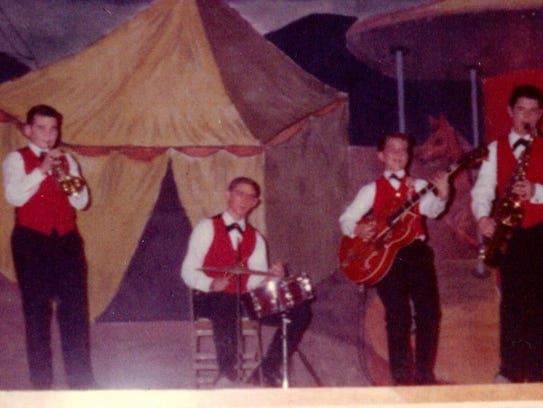Eddie Cochran's nephew, Bobby Cochran's first gig.