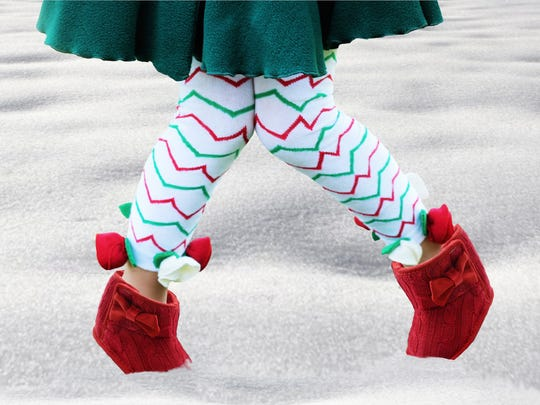 Toes & Bows is a line of tights by Springfield apparel designer Gerri Mack, whose firm Crivelli Mack makes a variety of clothes for girls and boys alike. They're sold online and in local boutiques including Inspirational Home, On Angel Wings (Ozark) and Sweet Boutique (Nixa).