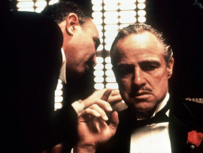 """Marlon Brando starred as Don Vito Corleone in """"The"""