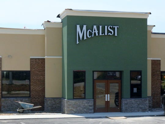 The West Side learned McAlister's Deli was on the way in October. It's set to open in September.