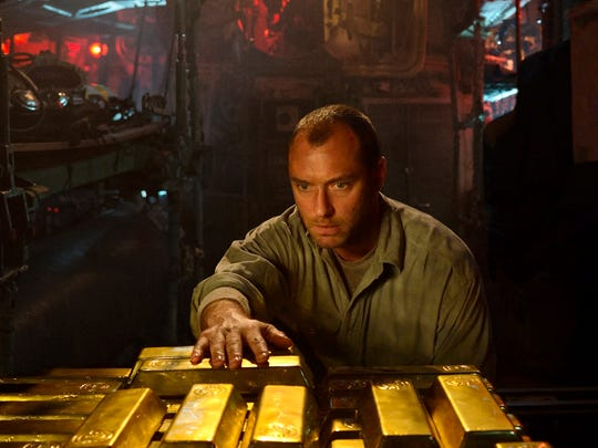 The lure of Nazi gold draws Robinson (Jude Law) to
